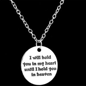 Jewelry - Hold you in my heart Necklace (L15)